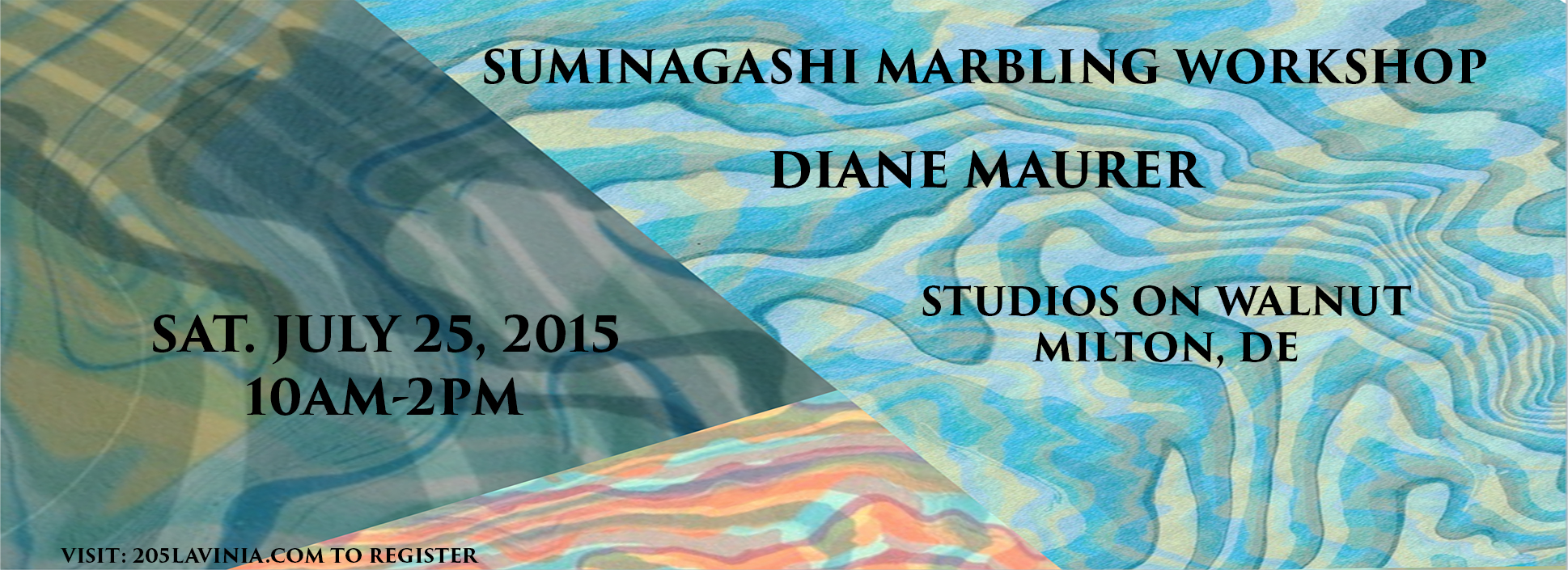 SUMINAGASHI PAPER MARBLING WORKSHOP – JULY 25